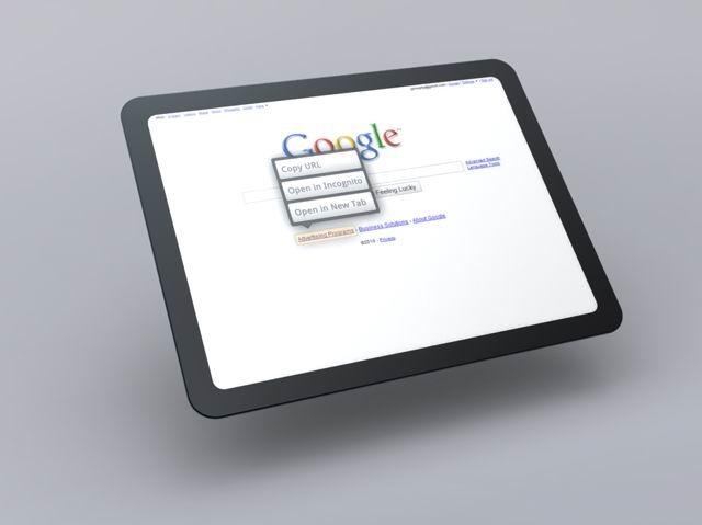Chrome OS Tablet UI 2