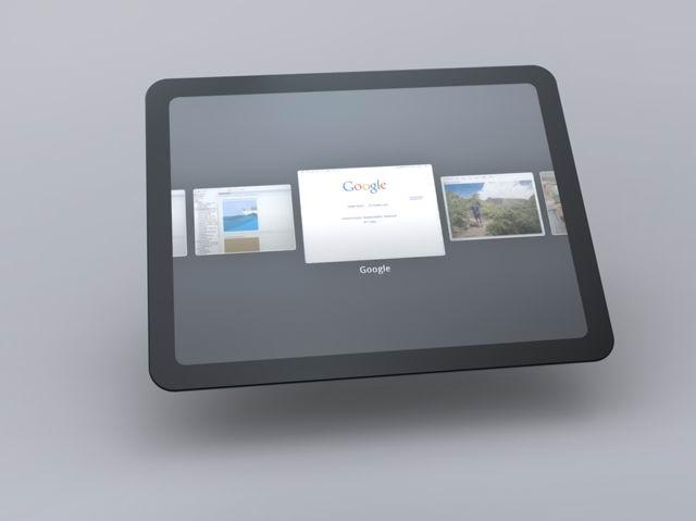 Chrome OS Tablet UI 5