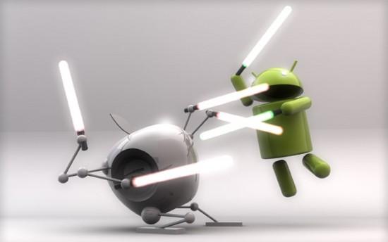 Wallpaper: The Phone Wars