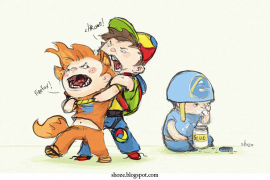 Chrome Funny Picture: Browsers
