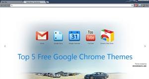 Top 5 free Google Chrome themes