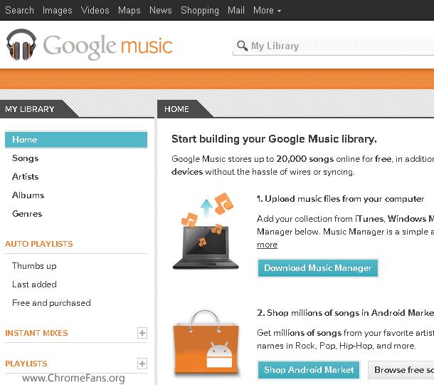 Screenshot-3: Use Google Music outside United States
