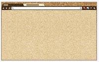 Google Chrome Theme: Cork Board