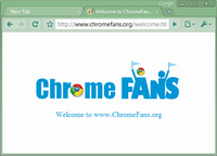 Download Dark Seagreen Google Chrome Theme