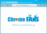 Download Deep Skyblue Google Chrome Theme
