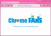 Download Hot Pink Google Chrome Theme