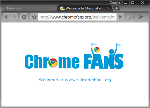 The screenshot of Black Google chrome theme, free download