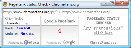 PageRank Status Checker v2