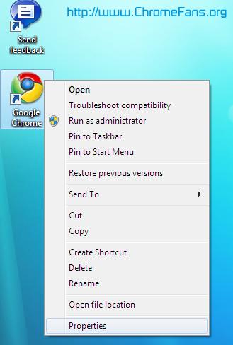 How to make Google Chrome work on Windows 7 Beta 64 Bit