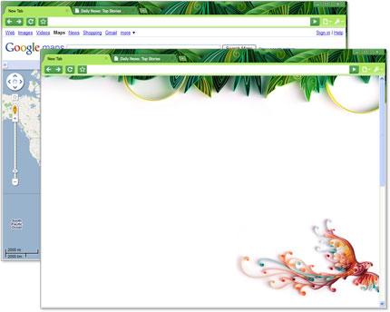 Google Chrome Artist Theme: Yulia Brodskaya